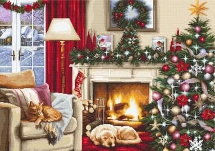 Різдвяний інтерєр