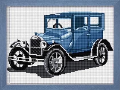 Ретро автомобіль (синій) 30025 Dream Art