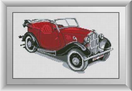 Ретро автомобіль (червоний) 30026 Dream Art