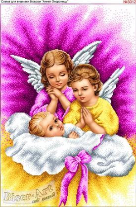 Ангели з дитиною 3012 Biser-Art