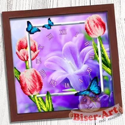 Годинник Весняний 003 Biser-Art