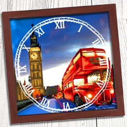 Годинник Вечір в Лондоні 007 Biser-Art
