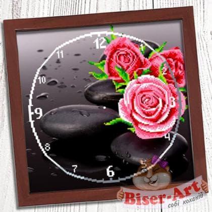 Годинник Троянда 011 Biser-Art