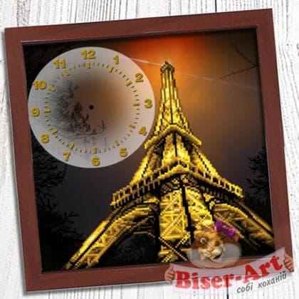Годинник Вечірній Париж 013 Biser-Art
