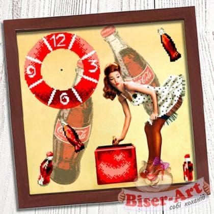 Годинник Пін ап 014 Biser-Art