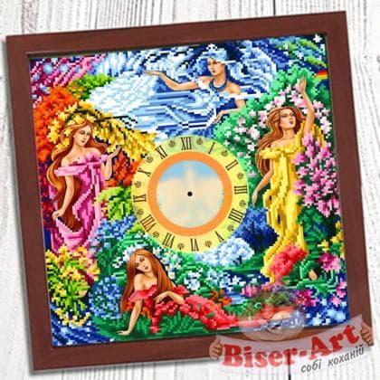 Годинник Пори року 015 Biser-Art