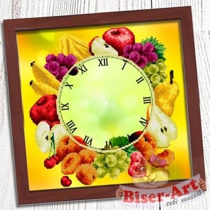 Годинник Букет фруктів 016 Biser-Art