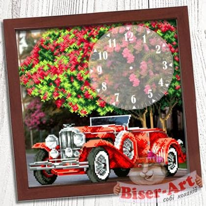 Годинник Автомобіль 020 Biser-Art