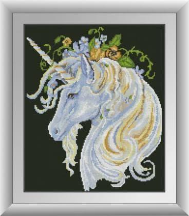 Єдиноріг в квітах 30415 Dream Art