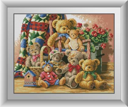 Сім'я ведмедиків