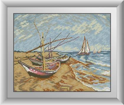 Рибальські човни на березі Сент-Марі 30515 Dream Art