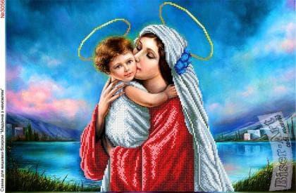 Мадонна з дитиною 3056 Biser-Art