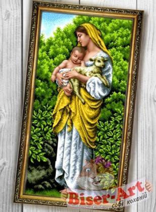 Марія з дитям 088 Biser-Art