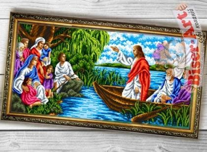 Проповідь Ісуса 089 Biser-Art
