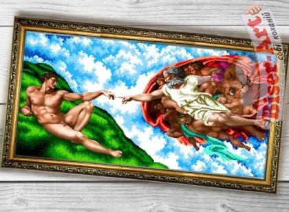 Створення Адама  090 Biser-Art