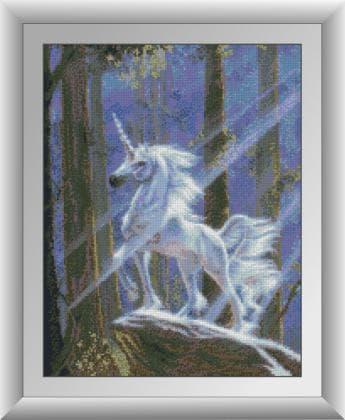 Єдиноріг в лісі