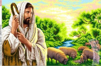 Ісус пастир 3063 Biser-Art
