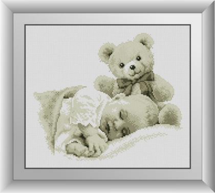 Крихітка з ведмедиком
