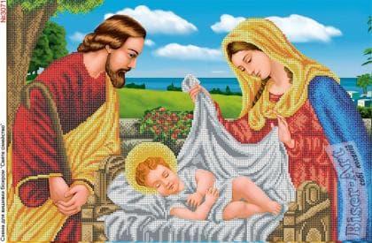Ісус в колисці 3071 Biser-Art