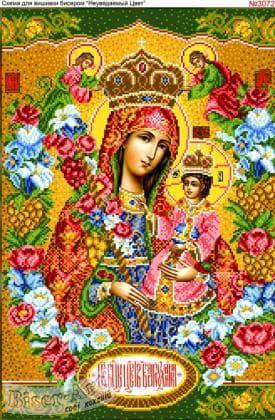 Богородиця Нев'янучий цвіт 3072 Biser-Art