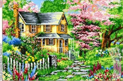Будинок в саду 3091 Biser-Art
