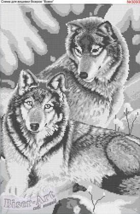Вовки 3093 Biser-Art