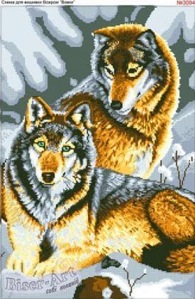 Вовки 3094 Biser-Art
