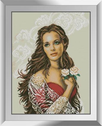 Дівчина з трояндами