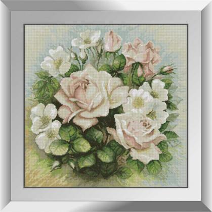 Пастельні троянди 31504 АК Dream Art