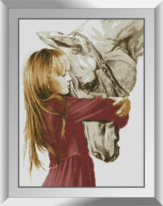 Дівчинка і кінь 31547 Dream Art