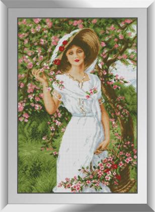 Дівчина в саду 31587 Dream Art