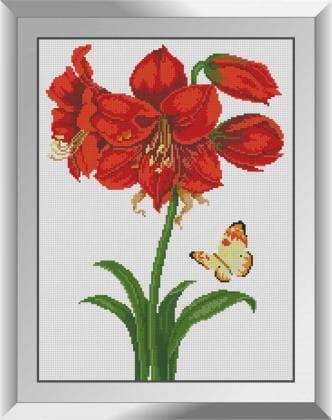 Метелик у лілії 31615 Dream Art