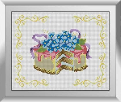 Тортик з незабудками 31618 Dream Art