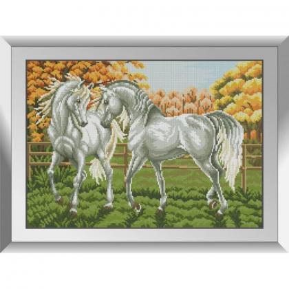 Пара білих коней 31714 Dream Art