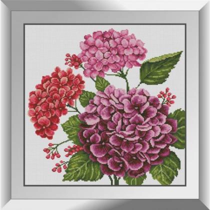 Рожеві гортензії 31716 Dream Art