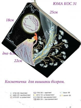 Косметичка  КОС-31 ЮМА