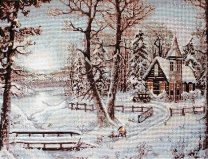 Зимовий пейзаж В321 Luca S
