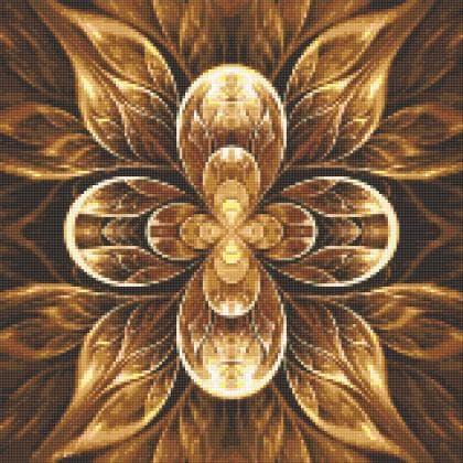 Мандала-квітка життя DM-326 Алмазна мозаїка