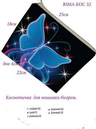 Косметичка  КОС-32 ЮМА