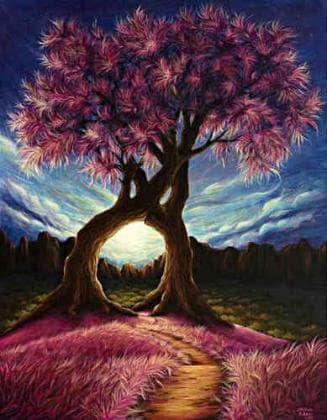 Дерево щастя DM-353 Алмазна мозаїка