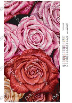 Трояндове панно dana-3550 DANA