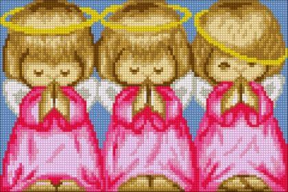 Майже ідеальний(рожевий) DM-358 Алмазна мозаїка