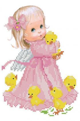 Великодній рушник ХВД-035 Княгиня Ольга