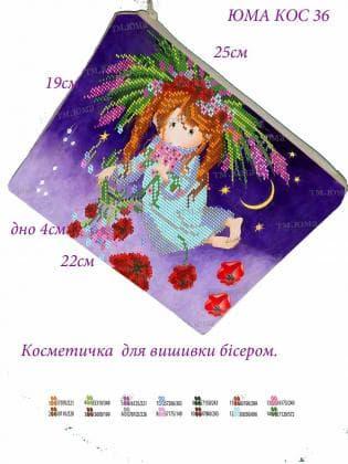 Косметичка  КОС-36 ЮМА