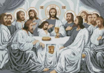 Тайна вечеря DM-391 Алмазна мозаїка