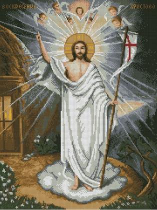 Воскресіння DM-394 Алмазна мозаїка