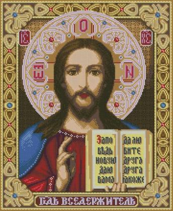 Ісус Христос DM-396 Алмазна мозаїка