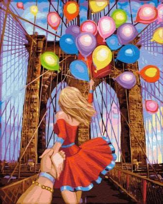 Йди за мною Бруклінський міст DM-398 Алмазна мозаїка