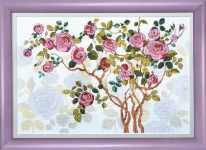 Квітуча шипшина ВТ-1007 Crystal Art