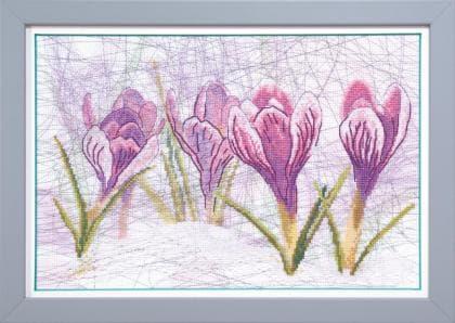 Весняний начерк ВТ-515 Crystal Art